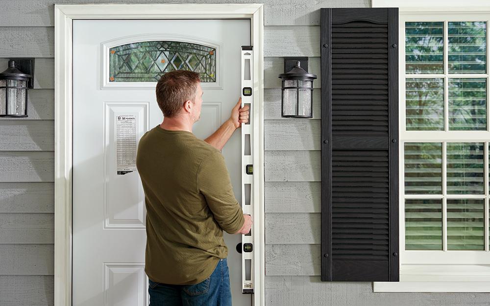 Hang a Garage Door
